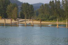 Campground Boat Launch from River
