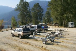 campground boat launch parking